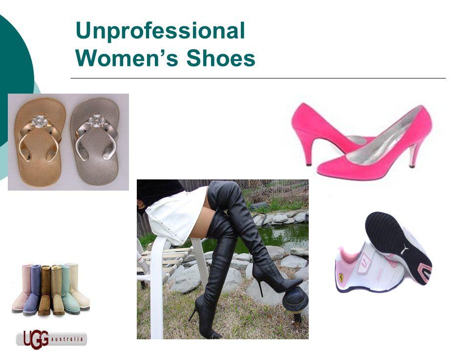 Unprofessional Womens Shoes