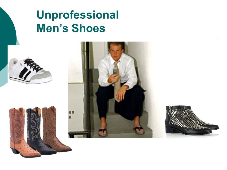 Unprofessional Mens Shoes