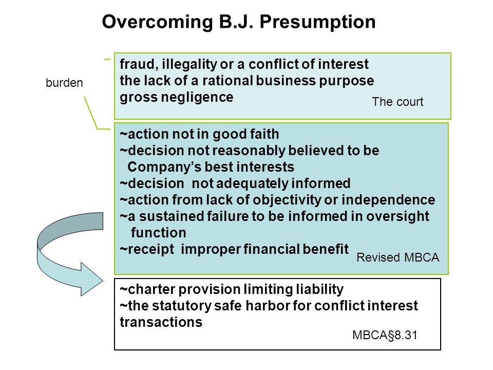 Overcoming B.J.
