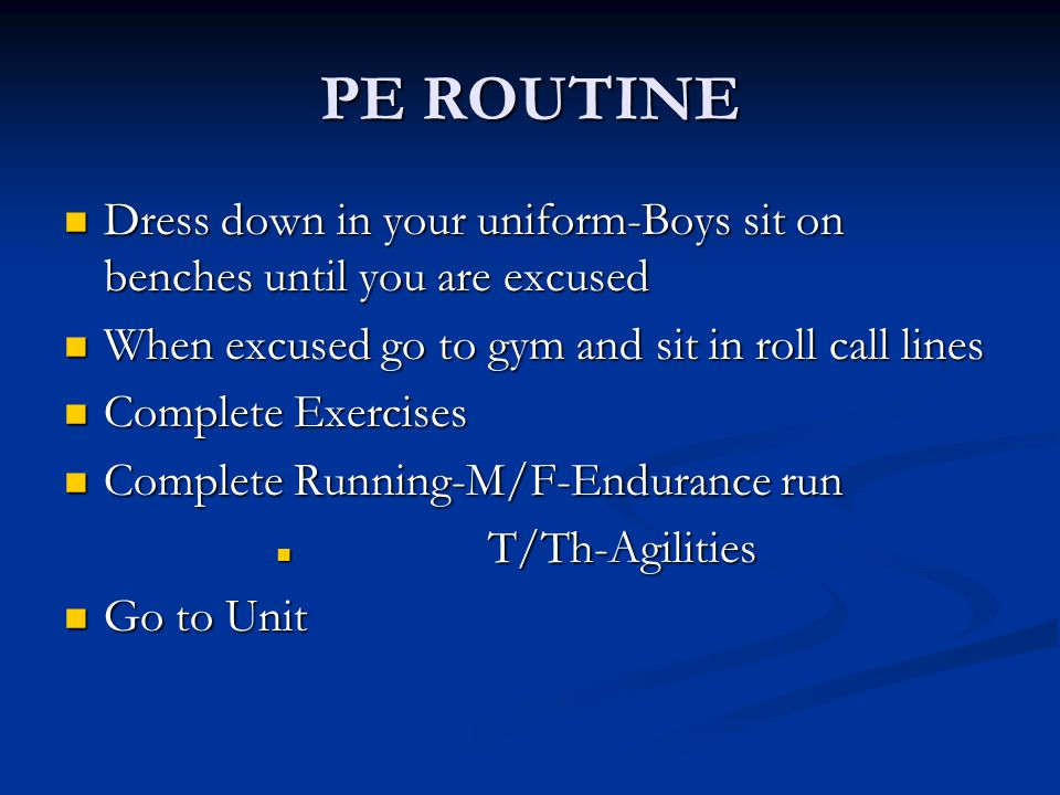 Uniforms Please pay by check or cash in the activity office Please pay by check or cash in the activity office Please bring receipt to a PE teacher Pl