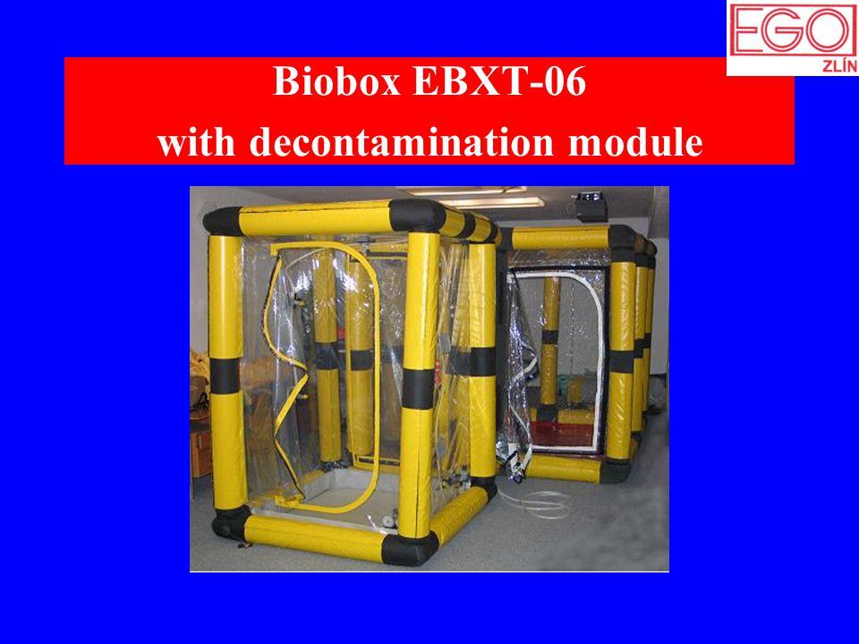 Biobox EBXT-06 with decontamination module