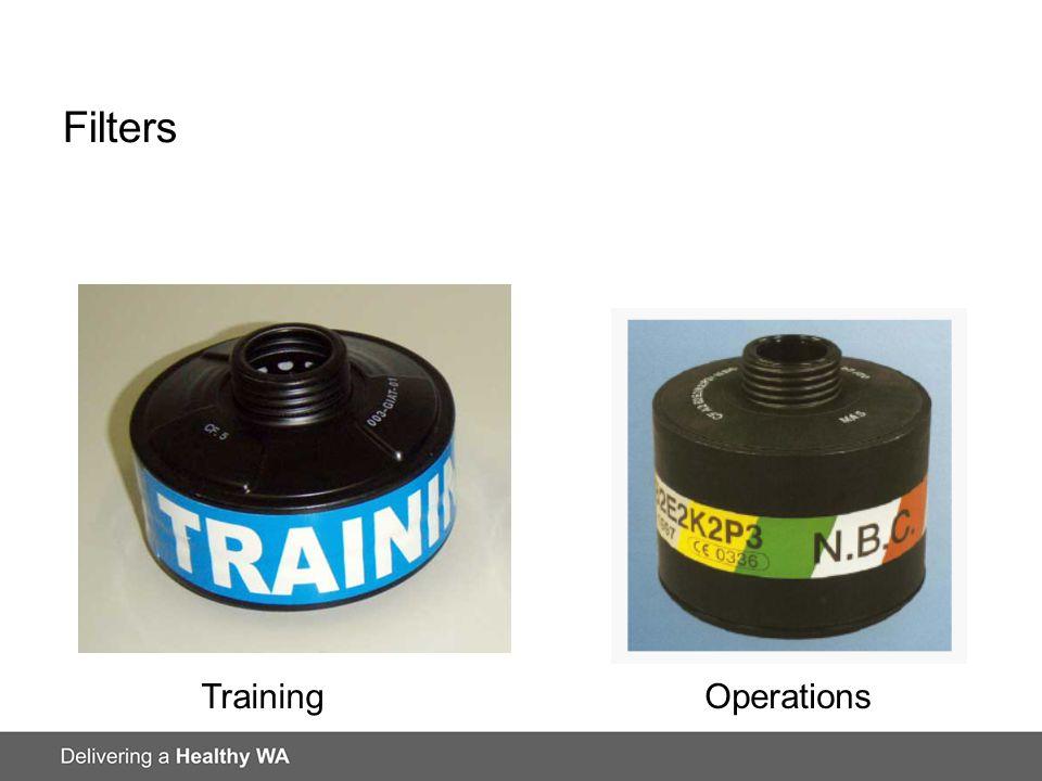 Filters TrainingOperations