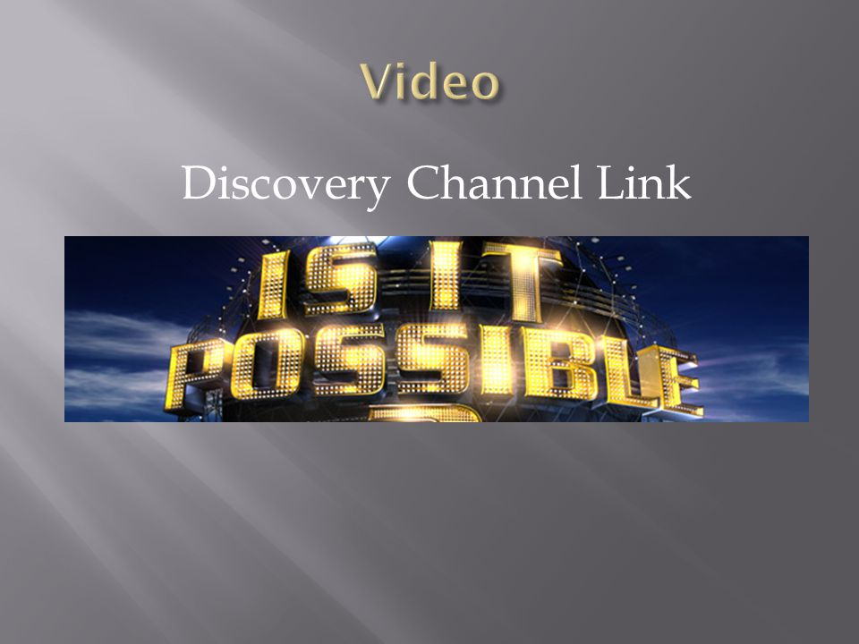 Discovery Channel Link