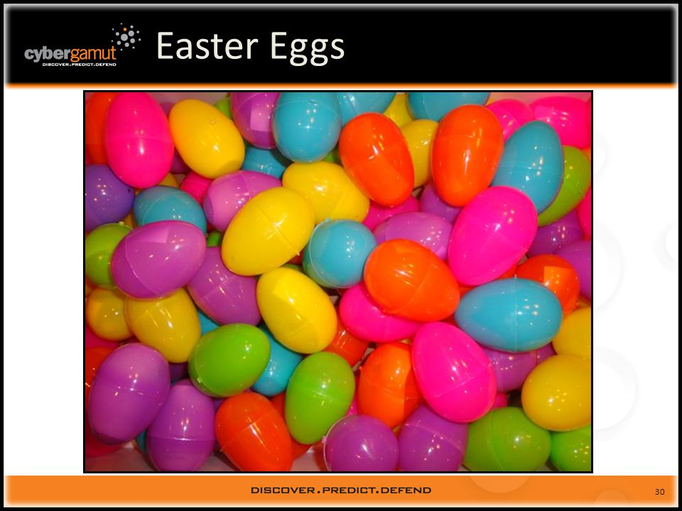31 Easter Eggs (eeggs.com)