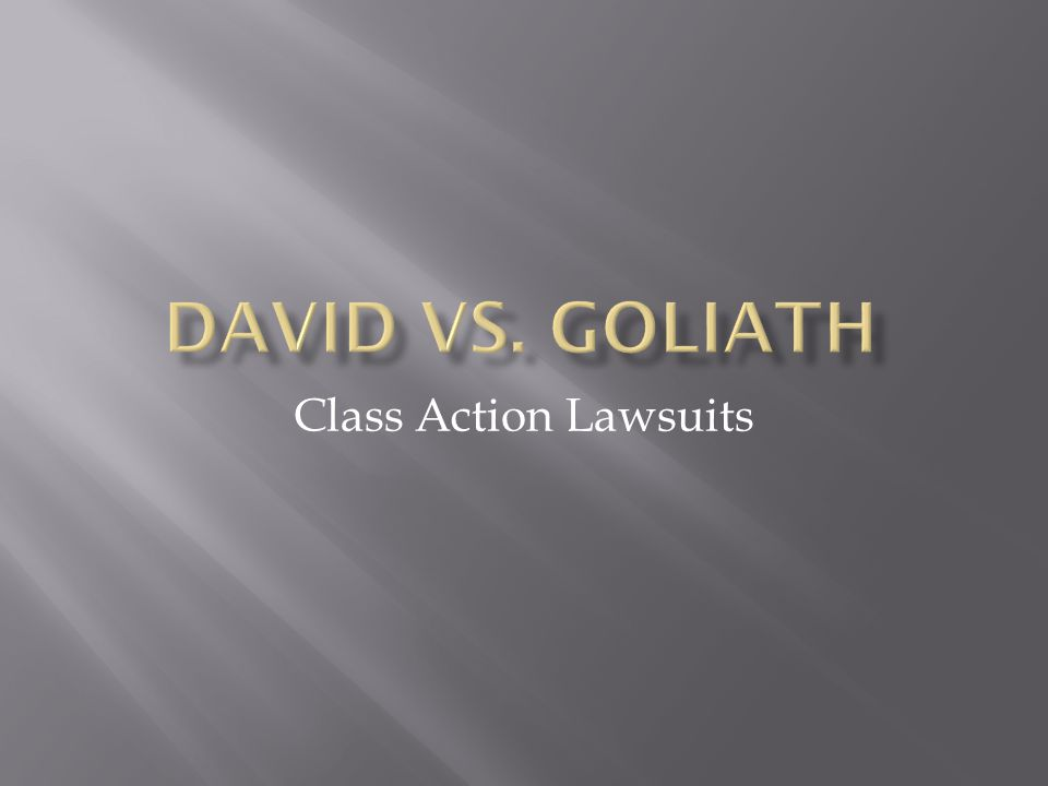A Class Action is a civil lawsuit brought on behalf of many people who have been harmed in a similar manner.