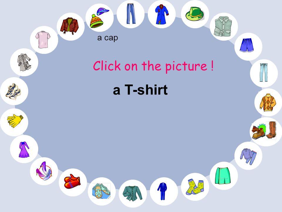 Find the picture ! a cap