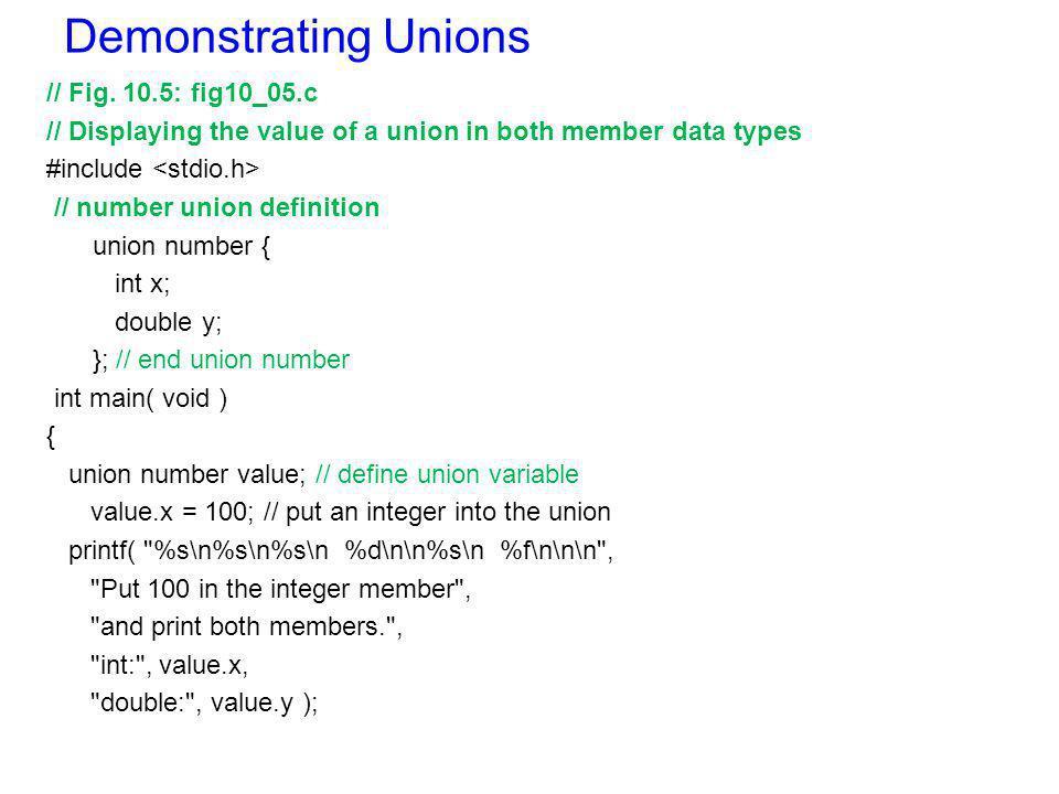Card shuffling Example using Bit-field // Fig.