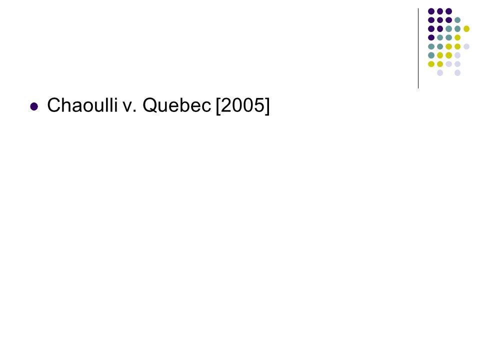 Chaoulli v. Quebec [2005]