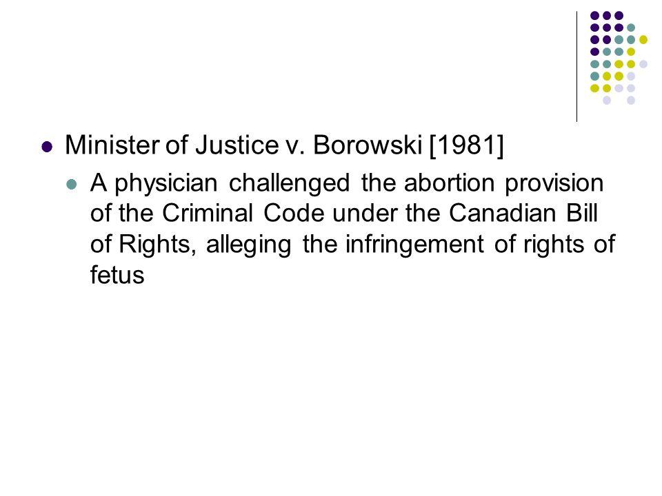 Minister of Justice v.