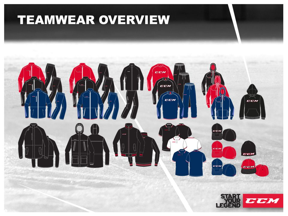 TEAMWEAR OVERVIEW