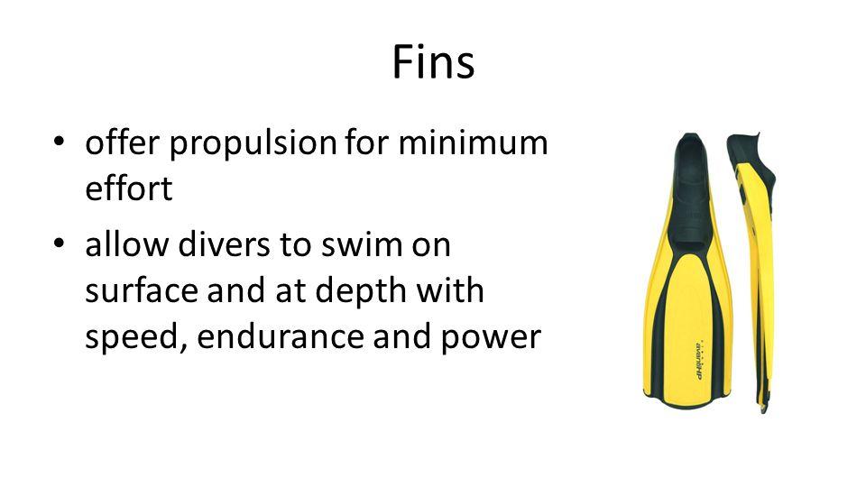 Fin types Full-footOpen-heel
