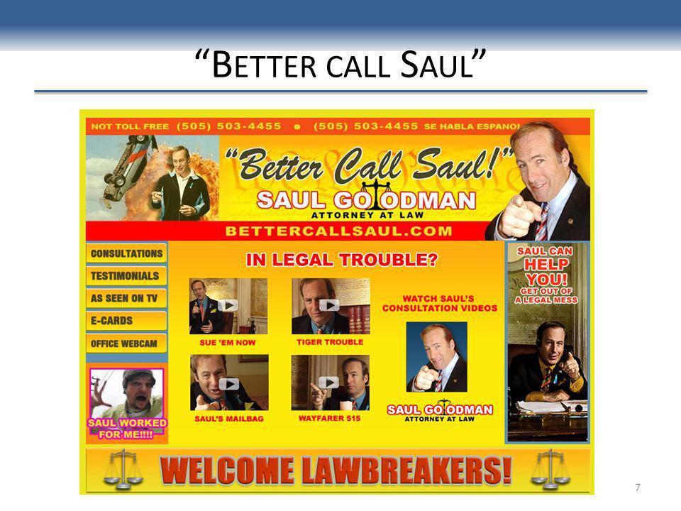 B ETTER CALL S AUL 7