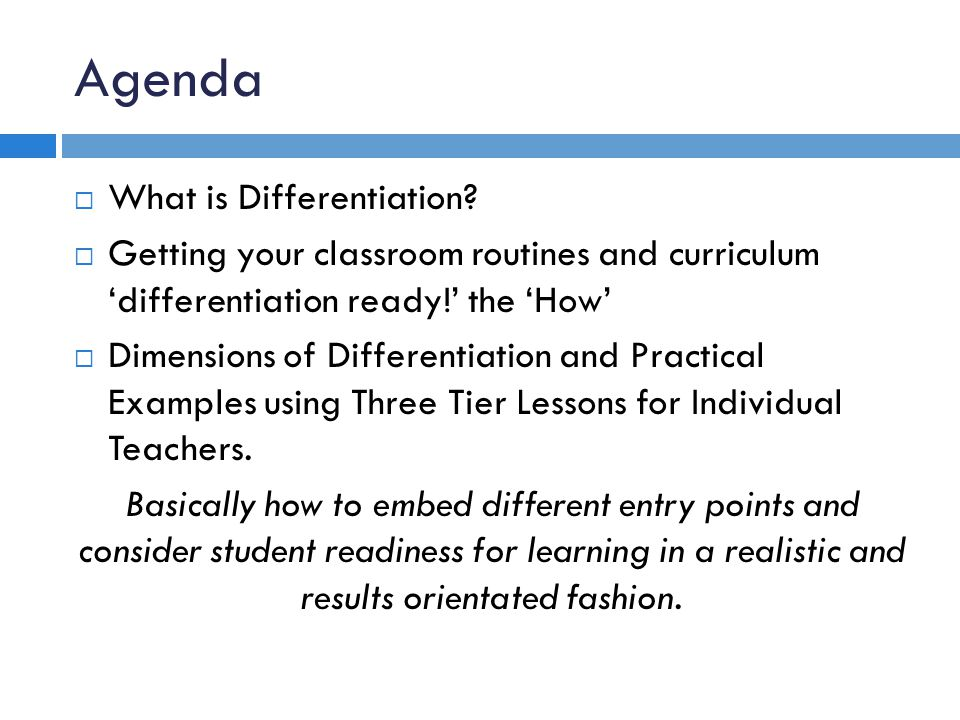 Routine 1: Pretesting – Readiness for Learning