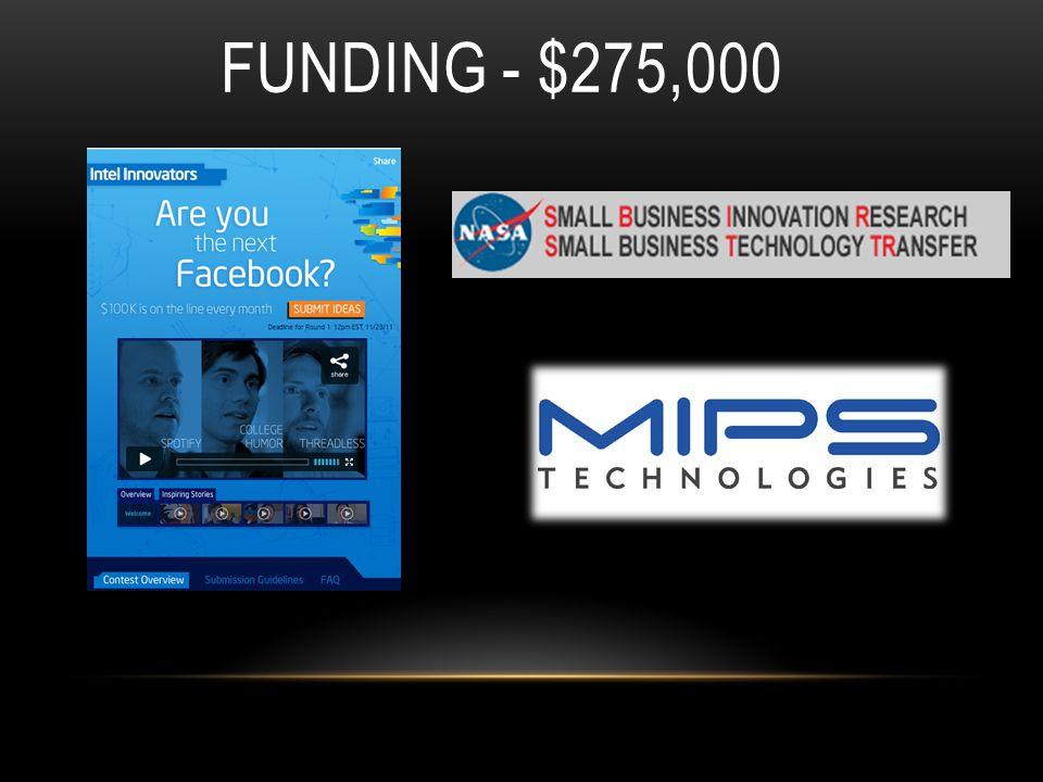 FUNDING - $275,000