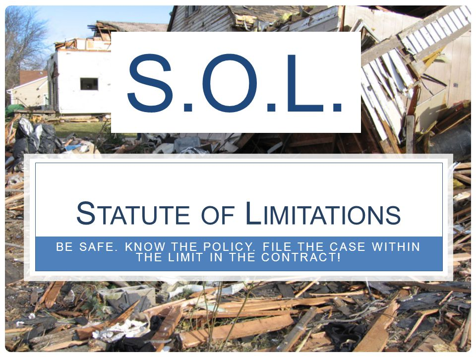 GCO&P In Texas Commissioner Bulletin --The insurers argument that the cost of contractors overhead and profit and sales tax on building materials should be excluded from an actual cash value loss settlement because the insured has not incurred these expenses is not persuasive.