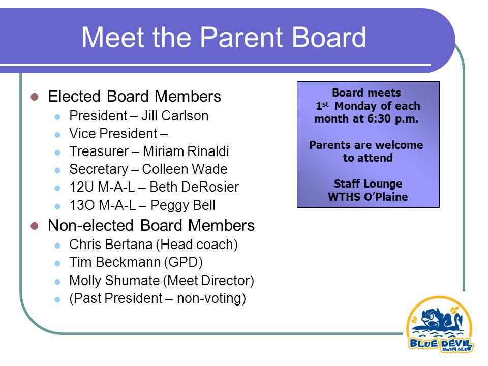 Time To Vote The 12 and Under Member-at-Large position is up for election, Approval of Peggy Bell to fill VP position and updated by-laws.