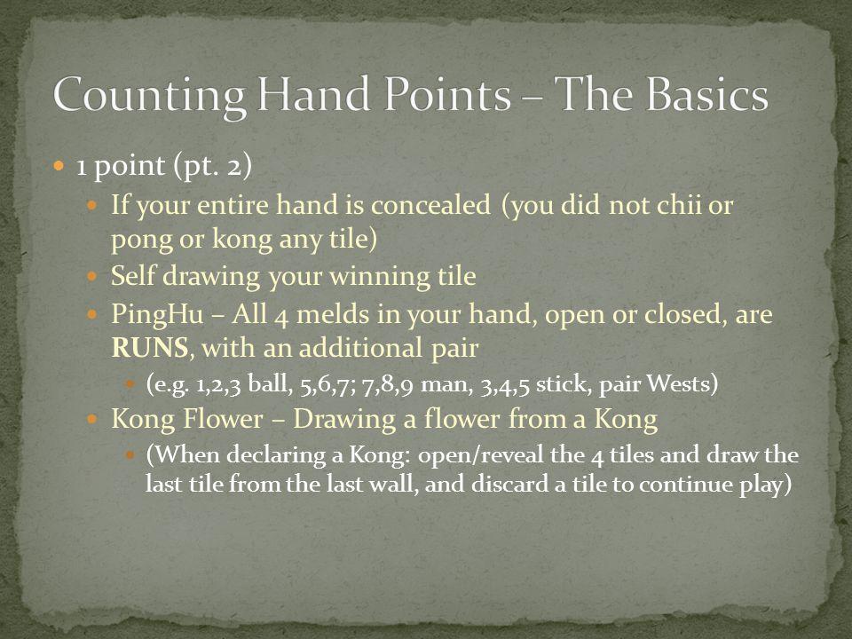 1 point (pt.