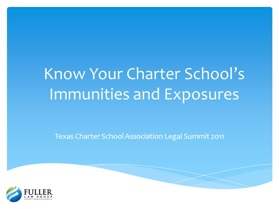 A charter school waives its immunity from liability under a contract every time that charter school enters into a contract.