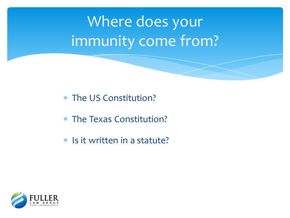 The Sovereign Immunity Doctrine in the United States Gibbons v.
