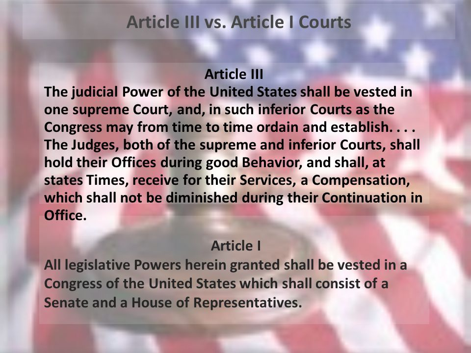 Article I All legislative Powers herein granted shall be vested in a Congress of the United States which shall consist of a Senate and a House of Representatives.