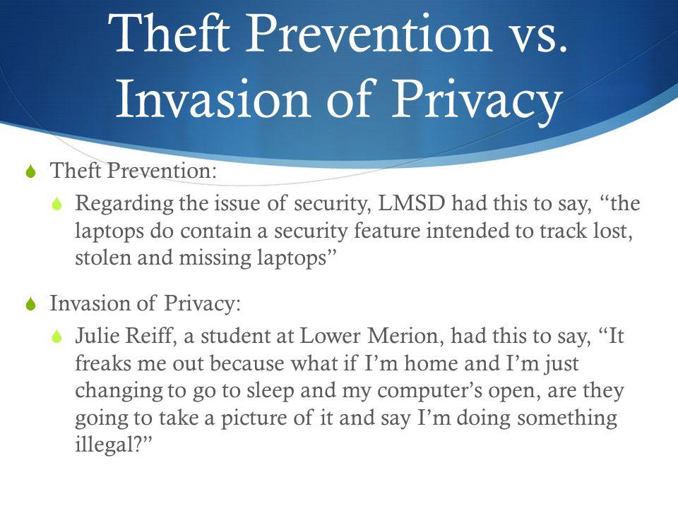 Theft Prevention vs.