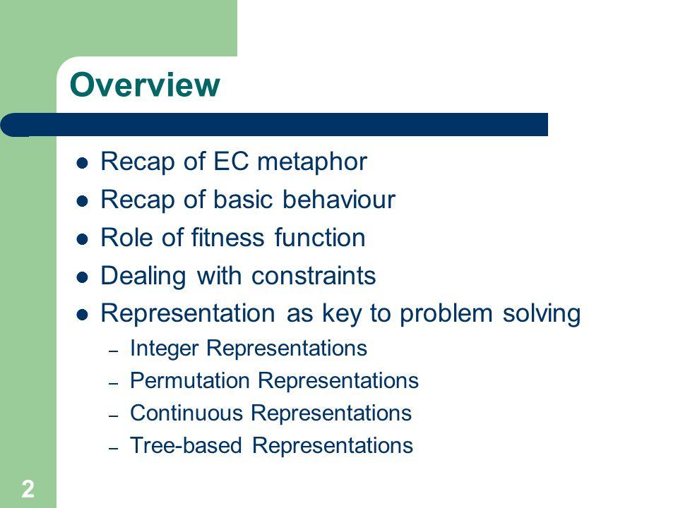 Methods for constraint handling DirectIndirect