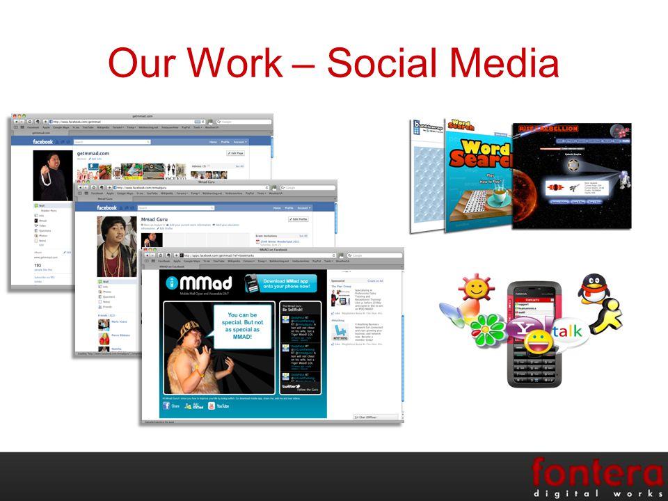 Our Work – Social Media