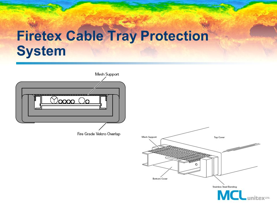 Firetex Cable Tray Protection System
