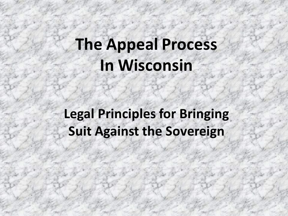 Presentation Contents: 1.WisDOT Acquisition Process Flow Chart 2.WisDOT Average Acquisition Timelines Appraisal Phase Negotiation Phase Litigation Phase 3.Types of Appeals: Statutory Process Applicable Timelines