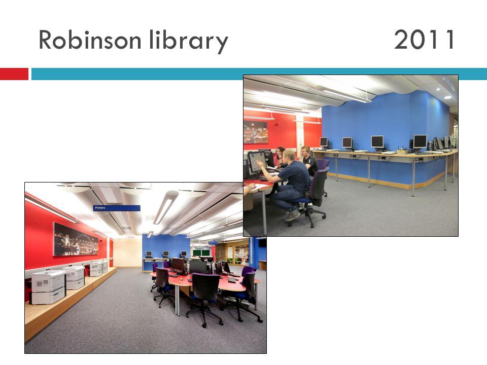 Robinson library 2011