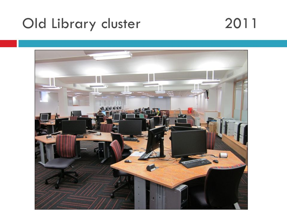 Old Library cluster 2011