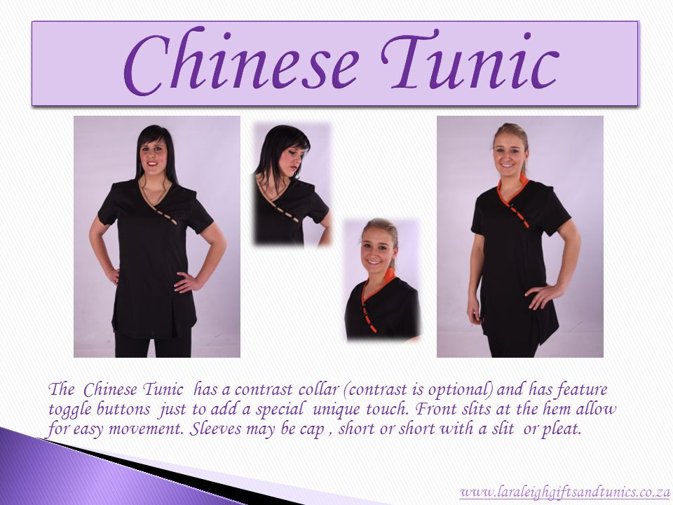 The Classic Tunic was our very first design manufactured.