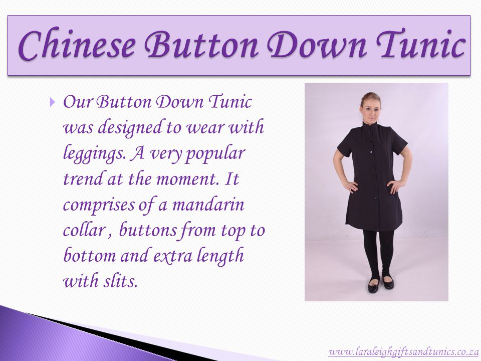 The Carla Tunic is one year old and has proven to be a very successful design.