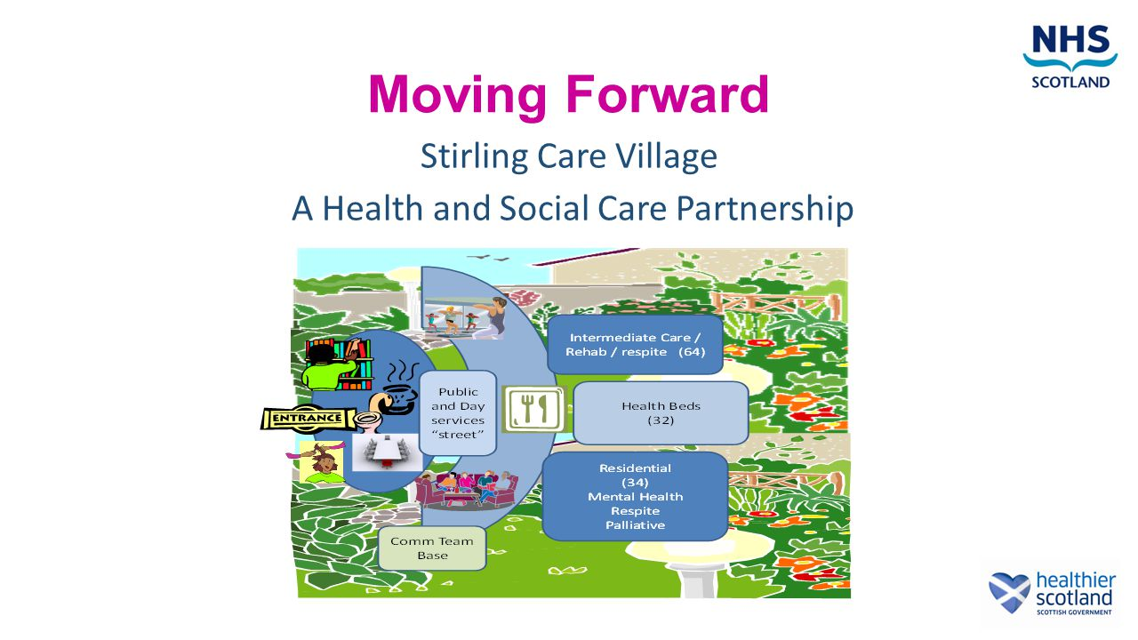 Moving Forward Stirling Care Village A Health and Social Care Partnership