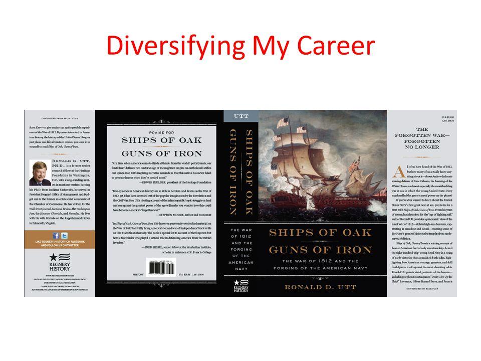 Diversifying My Career