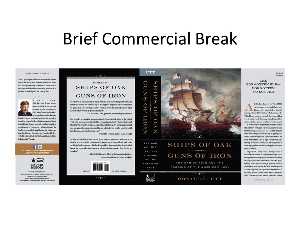 Brief Commercial Break