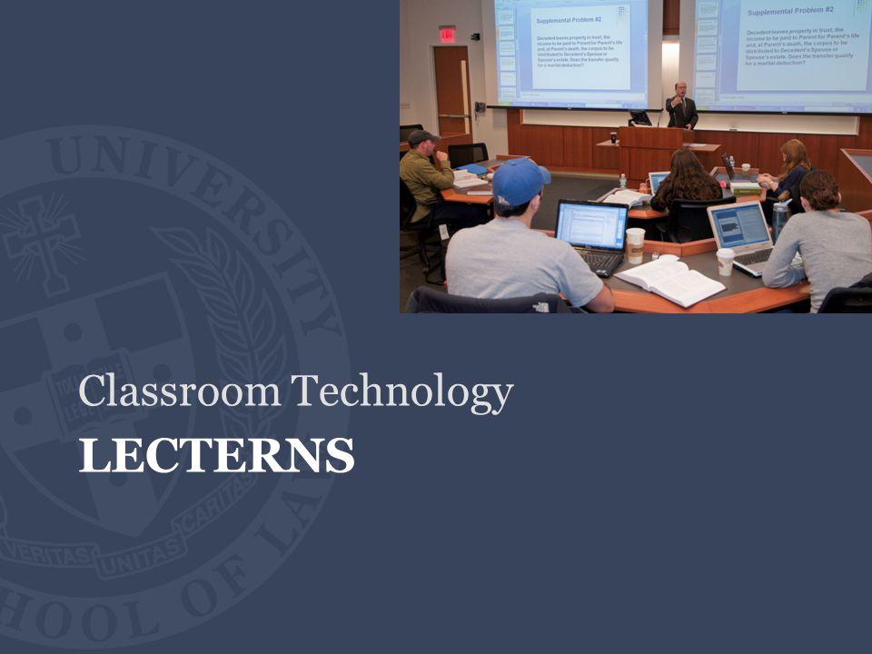 LECTERNS Classroom Technology