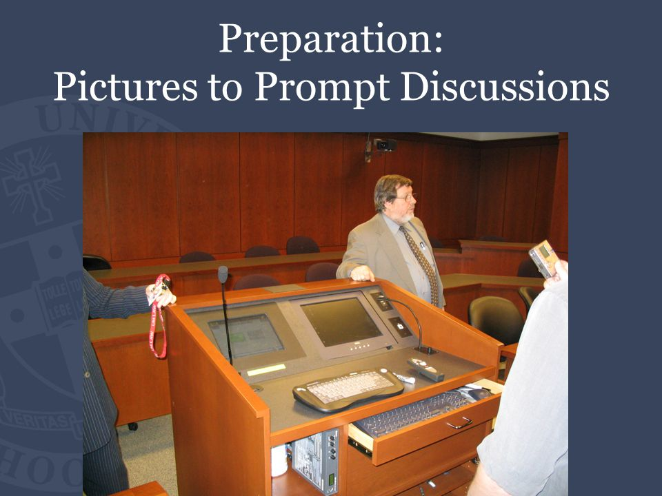 Preparation: Pictures to Prompt Discussions