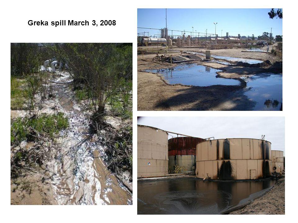 Testimonies Of 21 refineries in California, Greka Oil & Gas Inc.