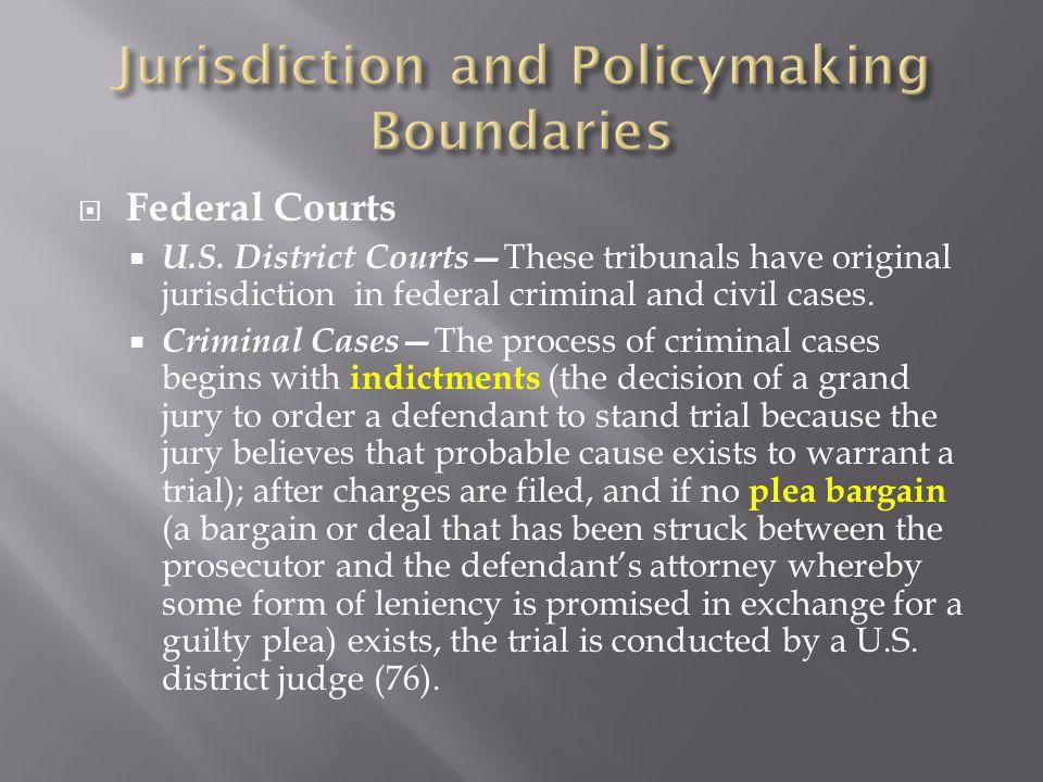 Federal Courts U.S.