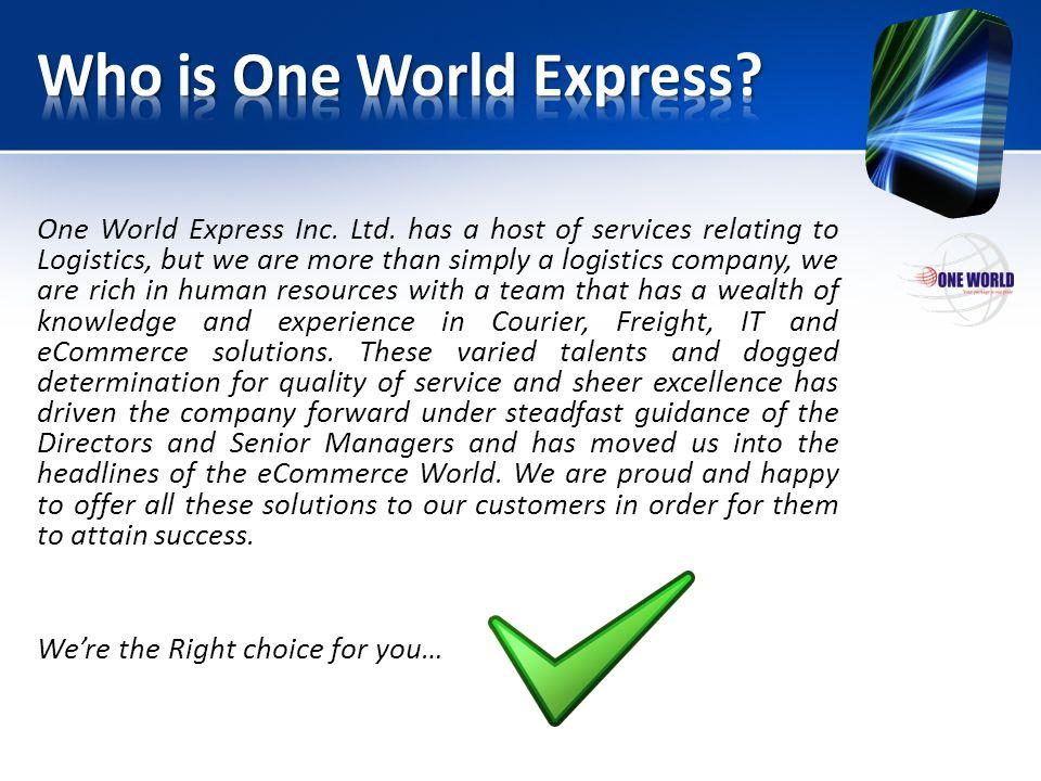 One World Express Inc.Ltd.