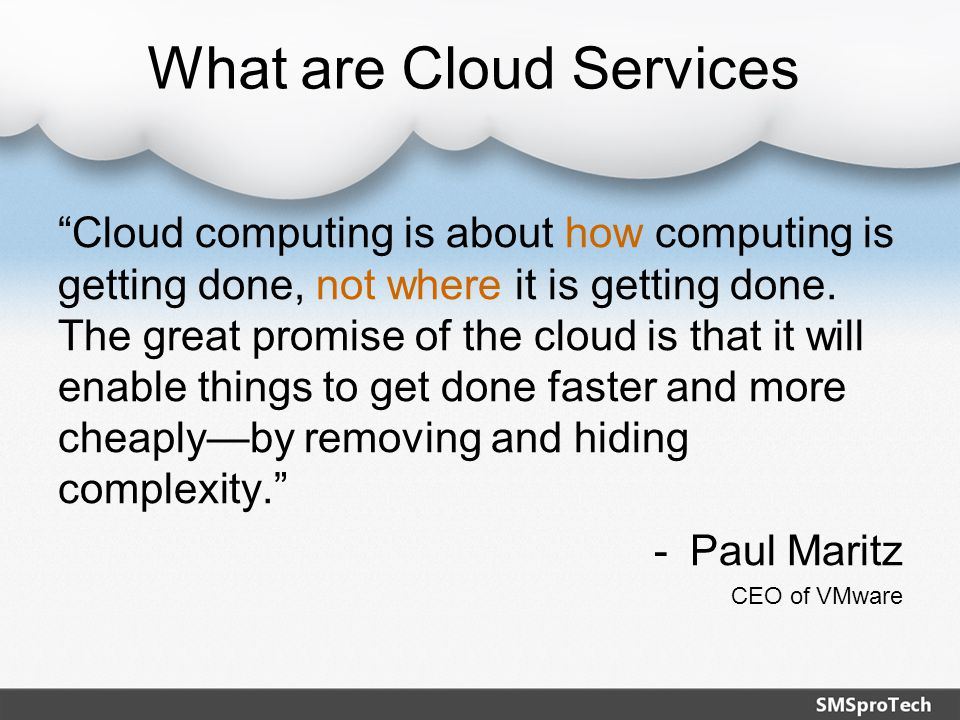 Solving the demand on IT Achieve the economics and agility of cloud computing without sacrificing security or control Customers can self provision virtual servers from scratch or templates, eliminating wait times associated with hardware purchasing and setup Scale capacity as needed without purchasing more hardware or having idle equipment Self-Service Portals Virtual Data Centers Catalogs