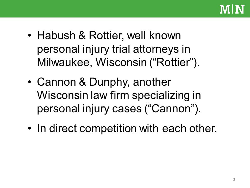 Habush & Rottier, well known personal injury trial attorneys in Milwaukee, Wisconsin (Rottier).
