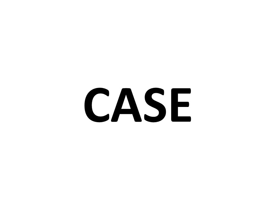 CASES IN ENGLISH?