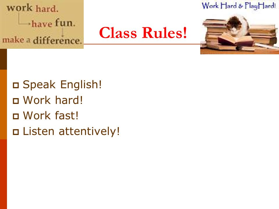 Classroom Language – 3min Are we all on the same page.