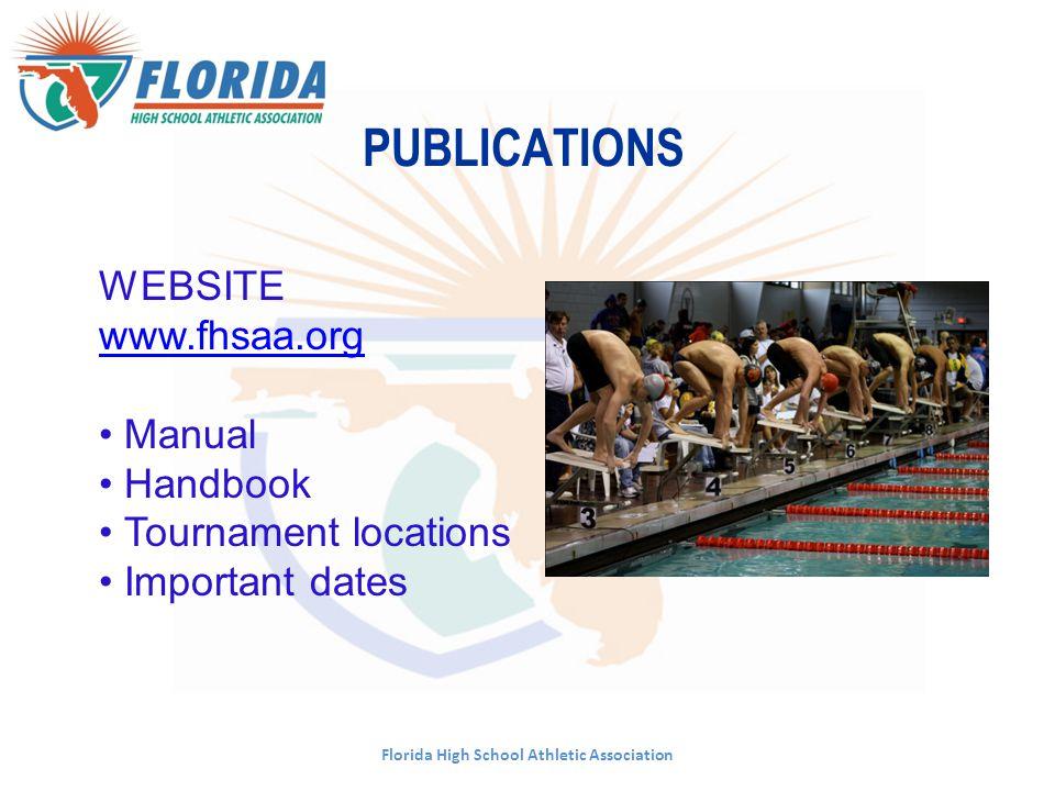 Cristina Broska, Director of Athletics cbroska@fhsaa.org or ext. 250 Florida High School Athletic Association