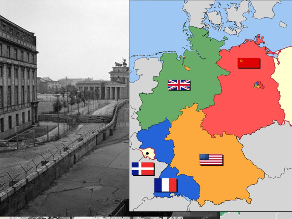 Berlin Wall August 13, 1961: Khrushchev closed crossing points between East and West Berlin Within hours 25,000 troops were in place to guard a barbed