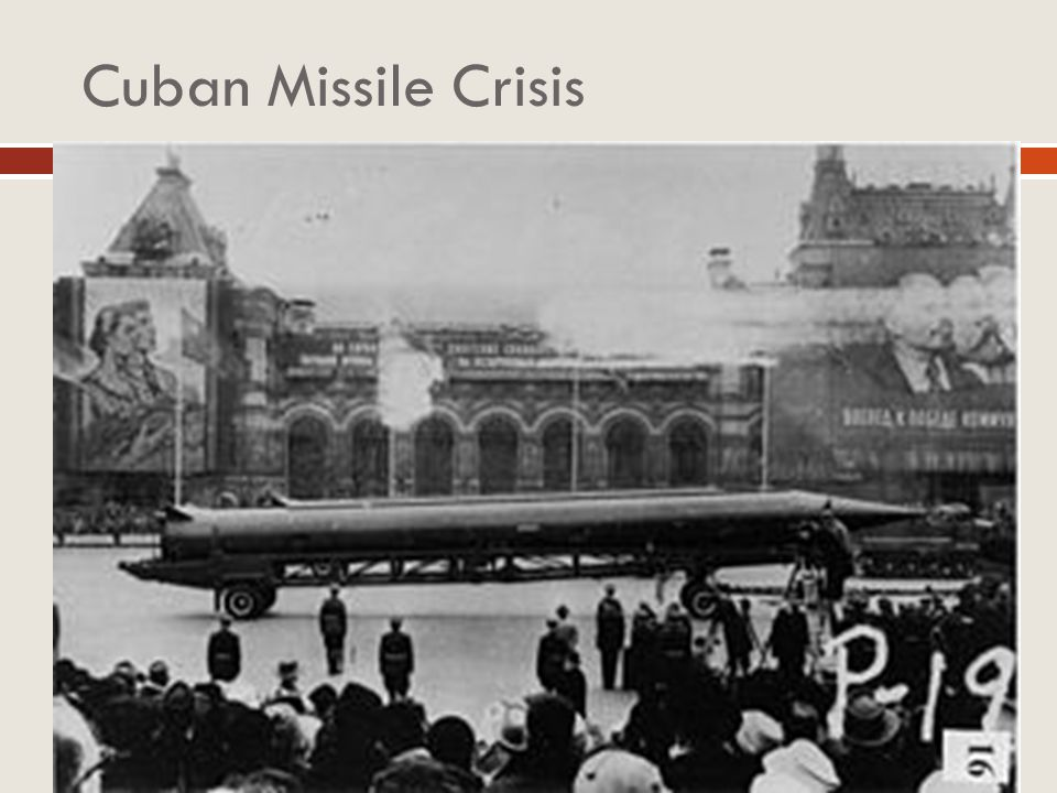 Cuban Missile Crisis US actions at the Bay of Pigs and Berlin Crisis encouraged USSR to become more aggressive Khrushchev pledged to defend Cuba USSR
