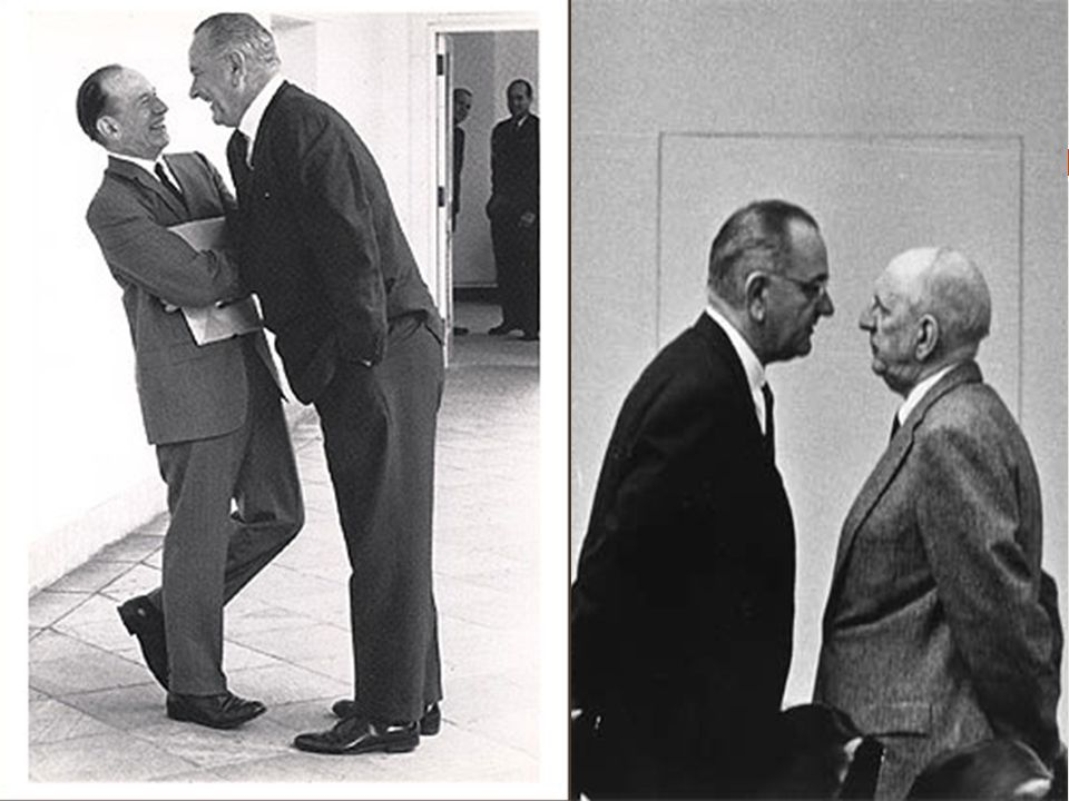 LBJ – Lyndon Baines Johnson Powerful Senator from Texas Hated being VP It was my duty to carry on what JFK had planned Master Legislator – used the JO