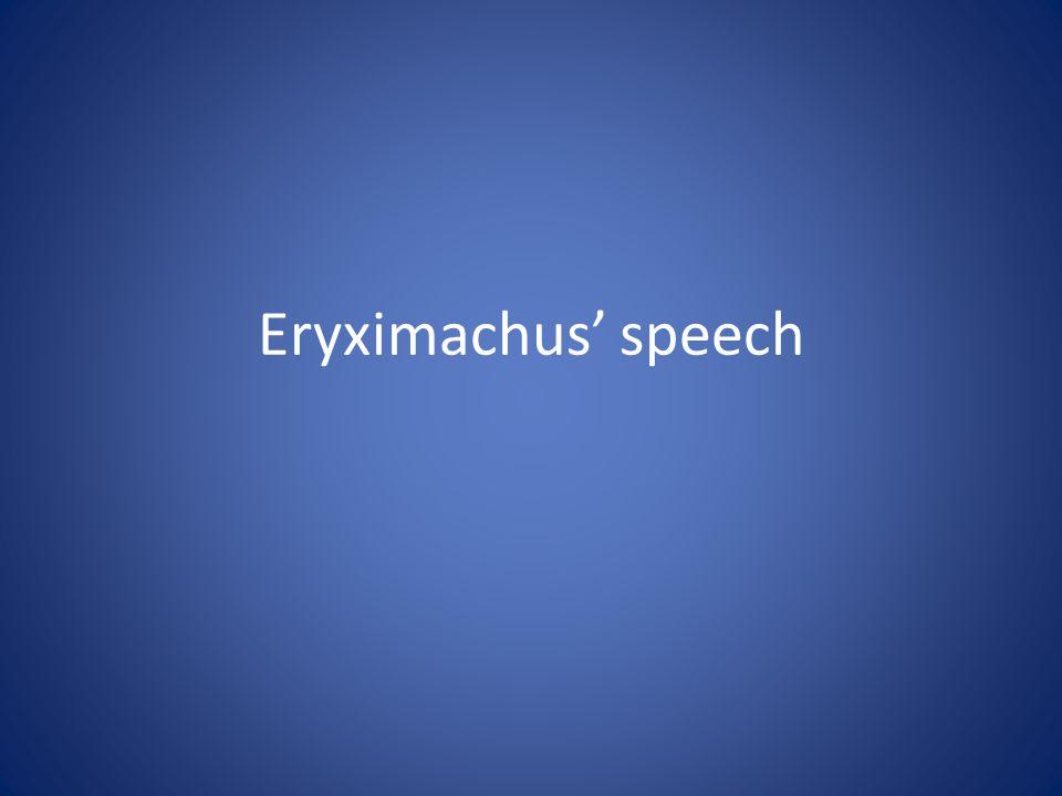 Eryximachus speech